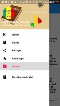 Constitution du Mali poster