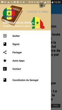 Constitution du Sénégal poster