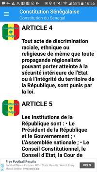 Constitution du Sénégal screenshot 2