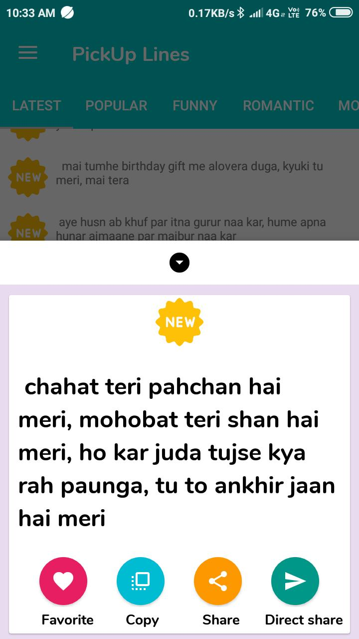 Hindi most in flirty lines √ Deep