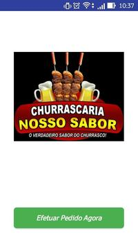 Churrascaria Nosso sabor poster