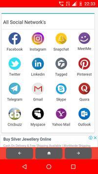 All in one App (All social media +News +Shopping) screenshot 1