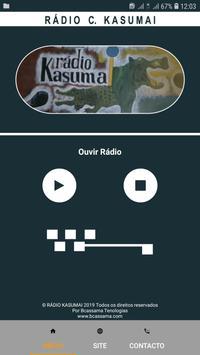 Rádio C. Kasumai screenshot 3