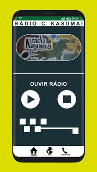 Rádio C. Kasumai poster
