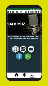 Rádio C. Kasumai screenshot 2