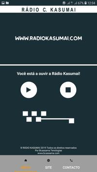 Rádio C. Kasumai screenshot 4