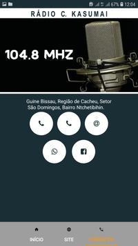 Rádio C. Kasumai screenshot 6