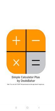 Simple Calculator Plus poster