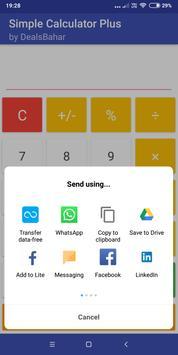 Simple Calculator Plus screenshot 2