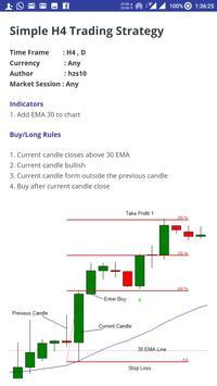 Forex Strategies screenshot 2