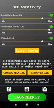 Max Sensitivity & Booster FF - (Remover Lag) imagem de tela 2