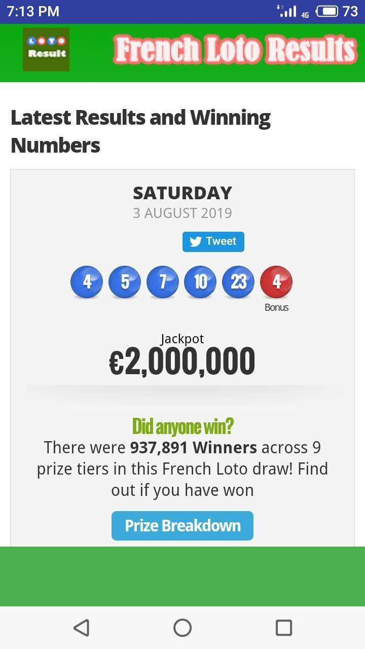 france lotto predictions app download