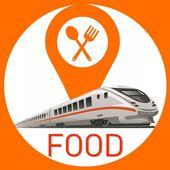 Online train khana ( order food in train app ) icon