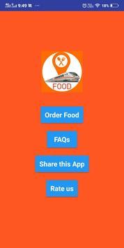 Online train khana ( order food in train app ) screenshot 4