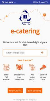 Online train khana ( order food in train app ) screenshot 5