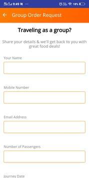 Online train khana ( order food in train app ) screenshot 3