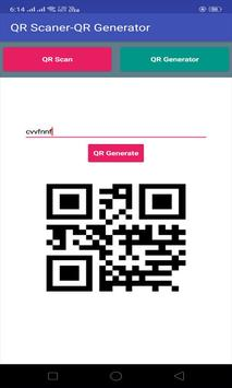 QR code Scanner and QR generator screenshot 1