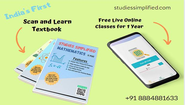 Studies Simplified -Scan and Learn+Free Live Class poster