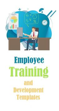 Employee Training and Development Office Templates poster