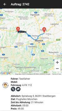 Fahrdienst Online - Fahrgast screenshot 2