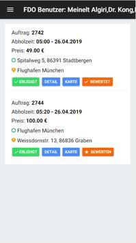 Fahrdienst Online - Fahrgast screenshot 3