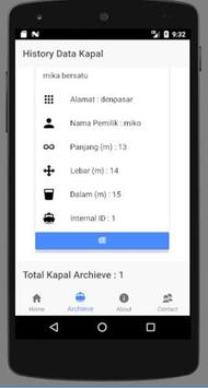 Pendaftaran Kapal App by MDPI screenshot 1