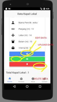 Pendaftaran Kapal App by MDPI screenshot 2