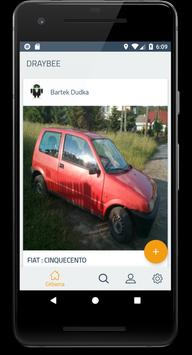 Draybee: worldwide automotive social platform screenshot 2