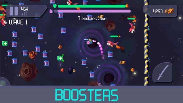 Galaxy Samurai.io- Space battle Royale screenshot 2
