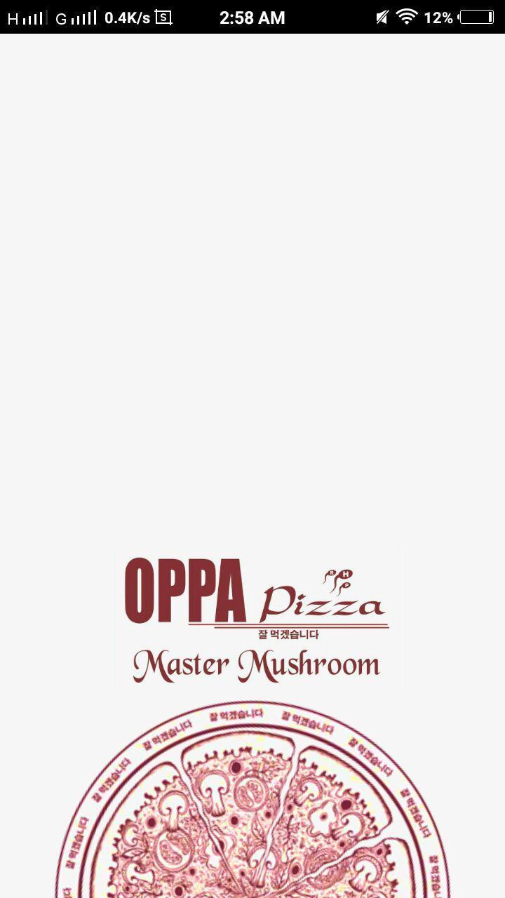 OPPA Pizza poster