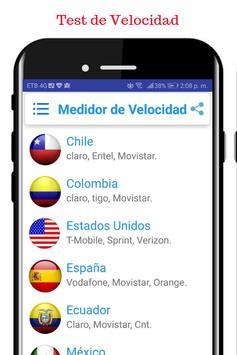 Velocidad Internet latinoamericana screenshot 4