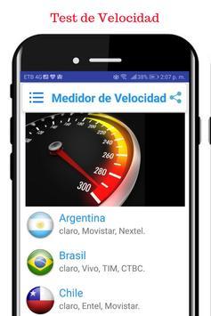 Velocidad Internet latinoamericana poster
