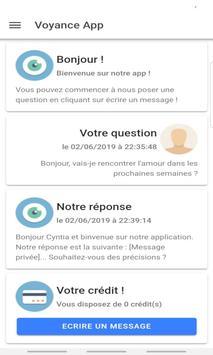 Voyance gratuite ou premium - L'Avenir par Tchat screenshot 1
