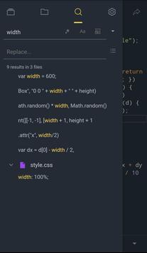 7 Schermata Spck JS Code Editor Sandbox w/ Github