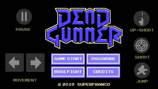 Dead Gunner poster