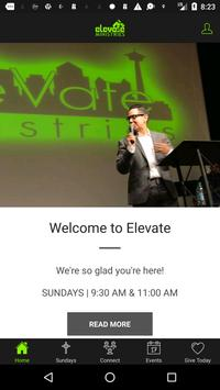 Elevate Ministries SA poster