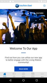 Living Waters Chapel poster