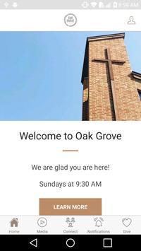 Oak Grove Church poster