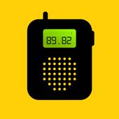 Talkie-walkie icône