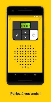 Talkie-walkie Affiche