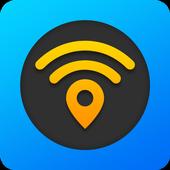 WiFi Map ícone