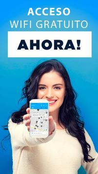 WiFi Map® - Internet gratuito con contraseñas WiFi Poster