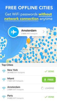 Acces Internet, Wi-Fi gratuit avec, VPN. WiFi Map® capture d'écran 4