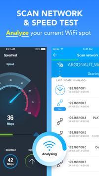 Acces Internet, Wi-Fi gratuit avec, VPN. WiFi Map® capture d'écran 3