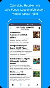 UNICEF erleben screenshot 2