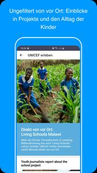UNICEF erleben screenshot 3