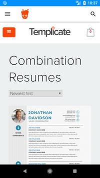 Templicate Resume Templates screenshot 2