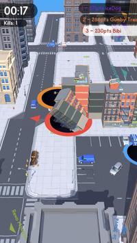 Hole.io скриншот 3