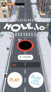 Hole.io captura de pantalla 4