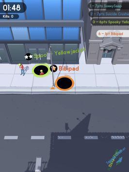 Hole.io captura de pantalla 5